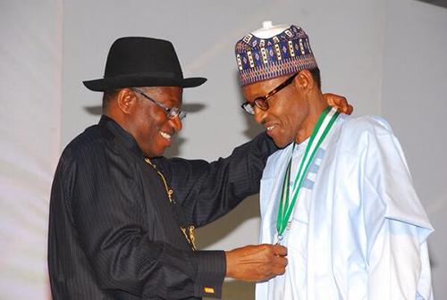 Jonathan, Buhari pledge to accept poll result