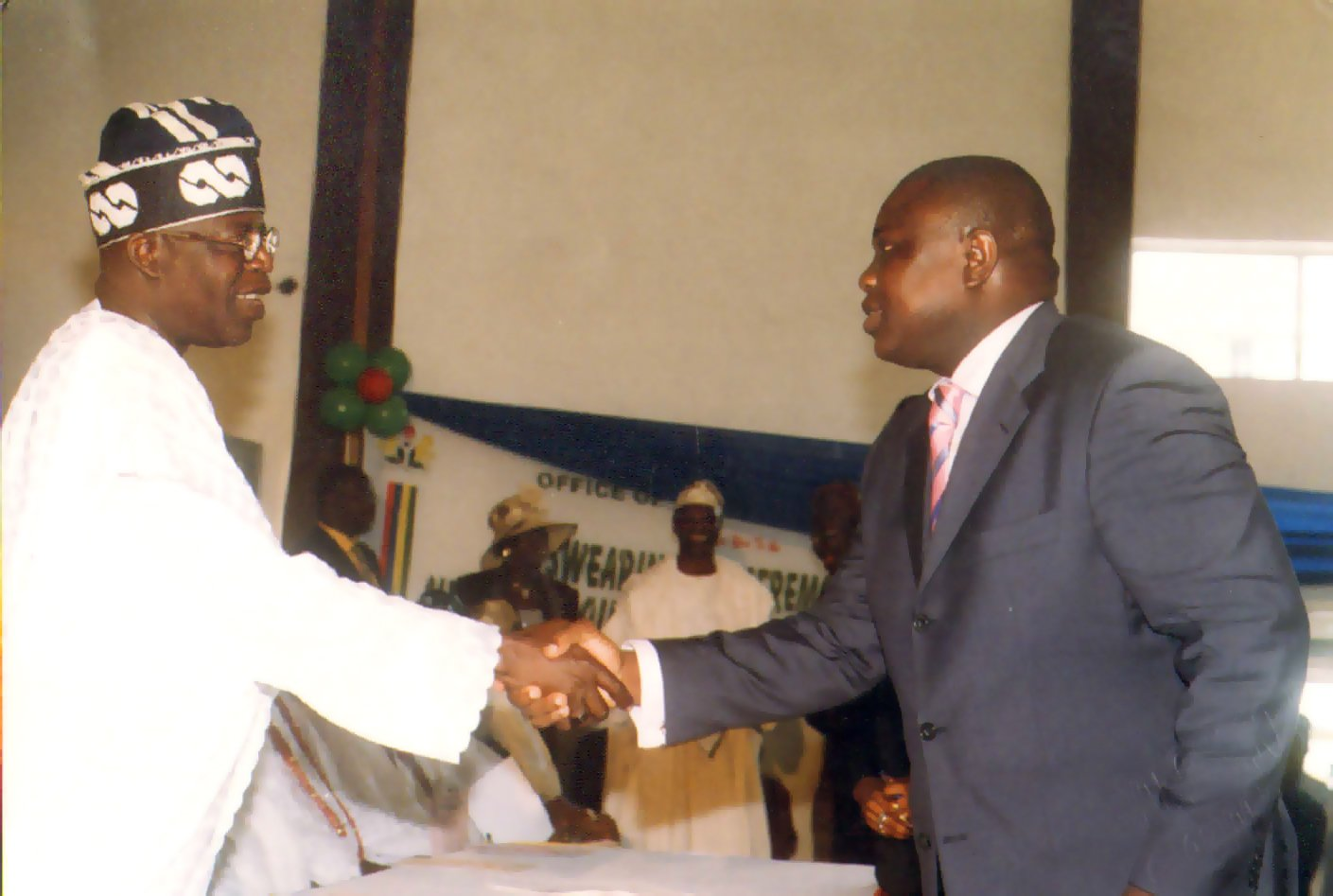 Tinubu appointed him permanent secretary, ministry of finance