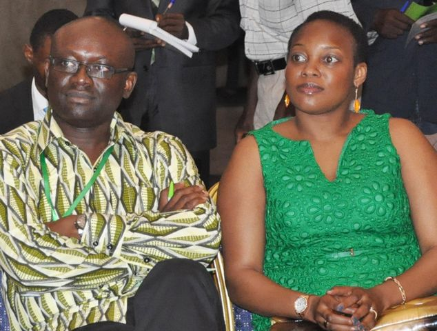Simon Kolawole and his wife, Abimbola