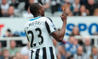 World Cup-bound Ameobi leaves Newcastle after 14 seasons