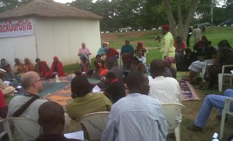 #BringBackOurGirls sit-in: Going… going… going?