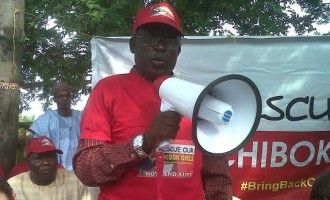 Father of Chibok abductee 'gladdened' by public support