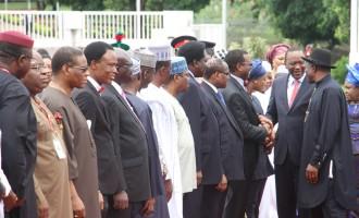 Jonathan, Kenyatta talk tough on terror