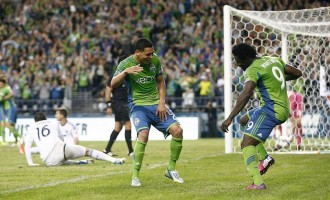 Martins scores in Sounders' 1-0 win over Earthquakes