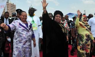 Patience Jonathan: Stop abusing my husband