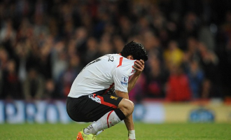 Suarez crying after Liverpool 3-3 Crystal Palace
