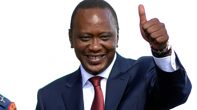 Kenyatta declared winner of presidential election