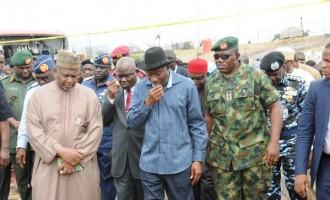 Abuja blast: Jonathan cuts short trip