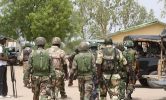 Support for army after Cameroon controversy