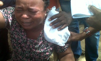 Nyanya dead victim's brother screams: 'Nigeria!'