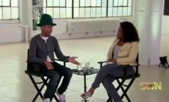 Happy Makes Pharrell Williams Cry