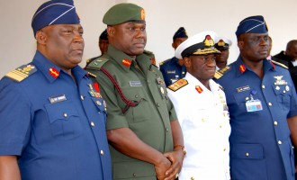 A 'coup' by the Nigerian military