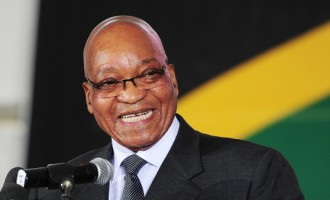 Reelected South Africa President, Zuma, names first black finance minister