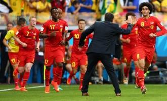 Belgium beat Algeria to complete Africa's hat trick of losses
