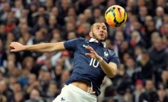 Benzema, Deschamps expect tough clash against Eagles