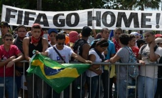 Protests herald Brazil 2014 World Cup