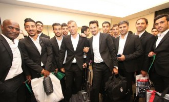 Nigeria's opponent, Iran, second to arrive Brazil