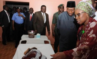 Abuja blast: Injured victim begs Jonathan for job