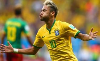 It's 100 in 100, as Neymar's Brazil top Group A
