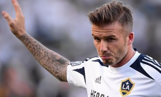 MEMORY LANE: Beckham does wonders with 3 balls and 3 trash cans
