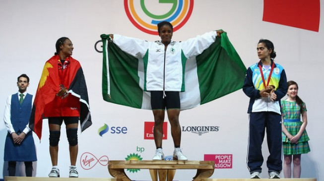 Teenager wins Nigeria's first gold in Glasgow