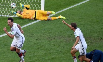 Germany beat France to reach fourth successive semi-final