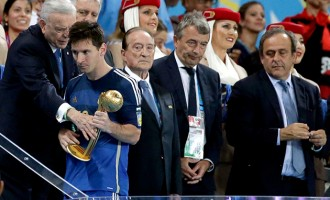 Oliseh in FIFA committee that gave Messi Golden Ball