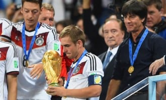 After lifting the World Cup, Lahm quits international football