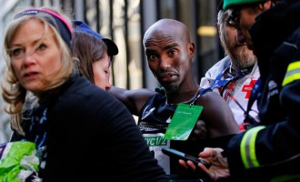 Mo Farah: Queen made me a knight, Trump made me an alien
