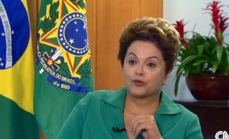 Brazil's President laments World Cup loss