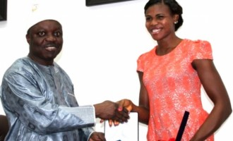 Okagbare brings smiles to Uduaghan's face