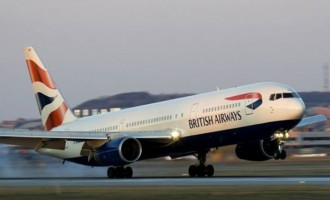 Ebola: British Airways suspends flights to Liberia, Sierra Leone