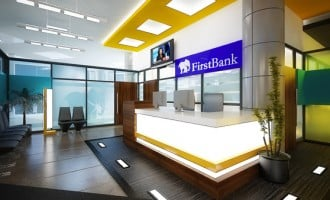First Bank growing revenue, losing profit