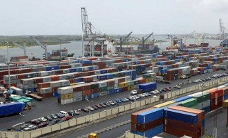 Imported goods pile up at the ports over Ebola