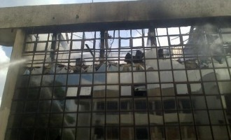 Fire guts NFF Glass House