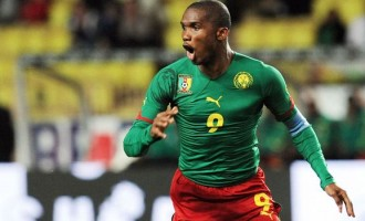 Africa's most decorated player, Eto'o, ends international career