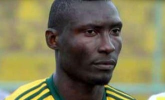 Cameroonian striker dies after being struck by object thrown from stands