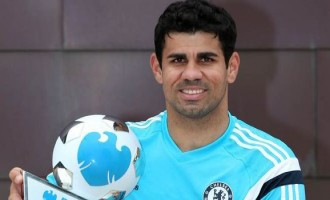 Costa wins BPL player-of-the-month award