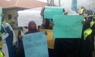 Protest, as court adjourns ruling on hijab in Lagos schools