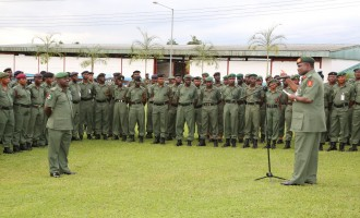 Military vows to end insurgency