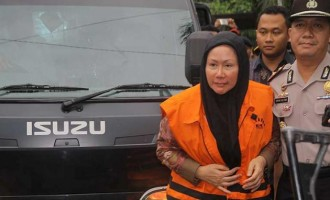 Indonesia jails first female governor for bribery