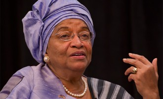 Don't leave us alone against Ebola, Sirleaf begs 'all nations'