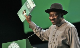 PDP lists Jonathan's achievements in education