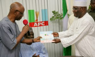 APC: Building a political party isn't easy… we wish Atiku good luck