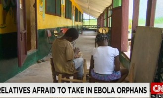 Relatives turn down Ebola orphans in Liberia