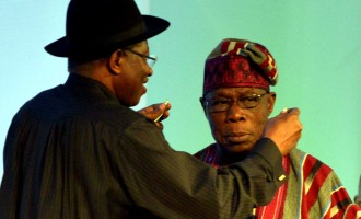 THE QUESTION: Was Obasanjo giving Jonathan a hint?