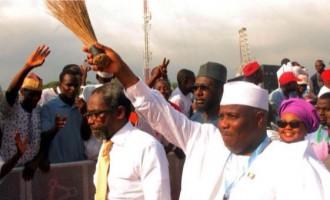 Tambuwal, Ambode, el-Rufai, Ribadu… winners and losers of the 2015 governorship election