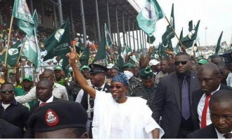 Aregbesola: Poverty, the religion of PDP
