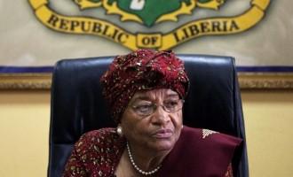 Touching: Liberia president speaks on Ebola