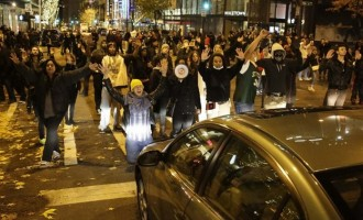 Ferguson protests in US spread to 12 cities